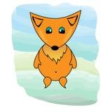 Fox. Cute fox illustration Stock Images