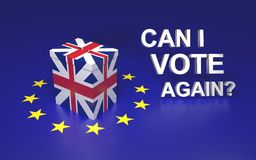 Can i vote again? Royalty Free Stock Images