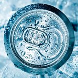 Can on ice Stock Photo