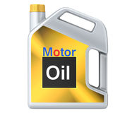 Can of motor oil Royalty Free Stock Images