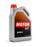 Can of motor oil Royalty Free Stock Photography