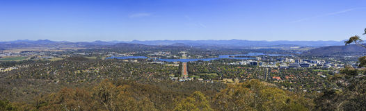 CAN Mt Ainslie day panorama Stock Photos