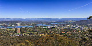 CAN Mt Ainslie Short panorama Stock Photography