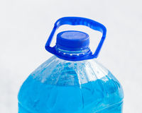 Non-freezing cleaning liquid Stock Images