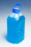 Non-freezing cleaning liquid Stock Image