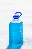 Non-freezing cleaning liquid Stock Photography