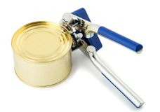 Can opener Royalty Free Stock Photography