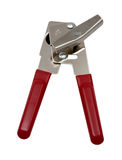 Can Opener with Red Handles Stock Photos