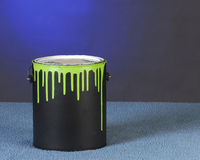 Can of paint Royalty Free Stock Photos