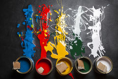 Can of paint Stock Photos