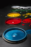 Can of paint Stock Image