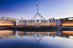 Can Parl Reflect Sunset Royalty Free Stock Image