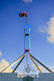 Can parl top Flag Royalty Free Stock Image
