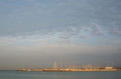 Can Pastilla marina at dawn Stock Photo