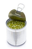 Can of peas Stock Images