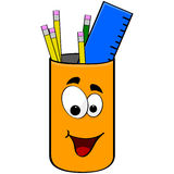 Can of pencils Royalty Free Stock Photo