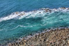 Cliff hanger royalty free stock photography
