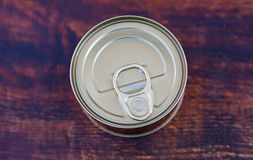 Can of preserves Stock Photography