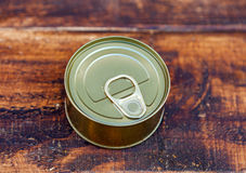 Can of preserves Royalty Free Stock Image