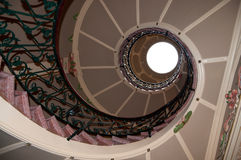 Can Prunera jugend staircase Stock Photography