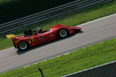 Can am race. Historical can am prototype, racing in Monza, Italy Royalty Free Stock Photography