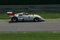 Can am race. Historical can am prototype, racing in Monza, Italy Stock Images