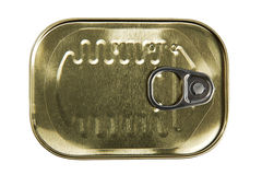 Can of sardines Royalty Free Stock Photography