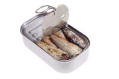 Can of sardines Stock Photography