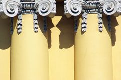 Columns - part of building stock photos