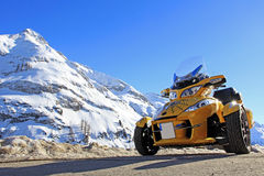 Can am spyder Royalty Free Stock Images