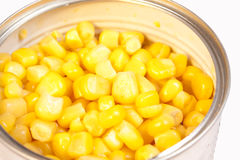 A can of sweetcorn Stock Photos