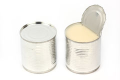 Can of sweetened condensed milk Stock Images