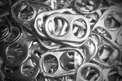 Can Tabs Royalty Free Stock Photo