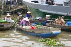 Can Tho Market Mekong Delta Vietnam Stock Photo