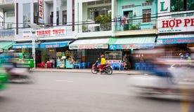Can Tho street scene Stock Photo
