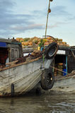 Can Tho, Vietnam. Market boats in the Mekong delta Royalty Free Stock Photography