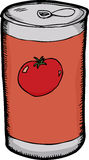 Can of Tomato Juice Stock Photography