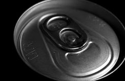 Can Top. A photo of the top of a can Stock Photos