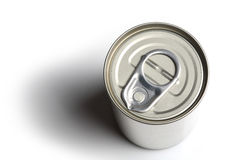 Can, top view Stock Photography