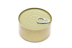 Can Of Tuna Closed. Royalty Free Stock Photos