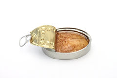 Can of tuna fish Stock Photo