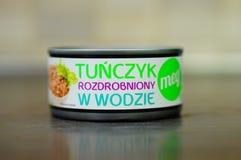 Can tuna Royalty Free Stock Photo