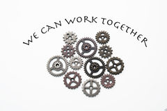 We can work together Stock Photo