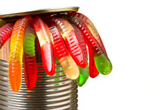 Can of Worms Royalty Free Stock Photography