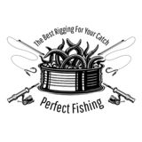 Can with worms with crossed fishing rods in engraving style. Logo for fishing or fishing shop on white.  stock illustration
