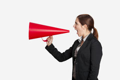 Can You Hear Me! Royalty Free Stock Photography