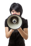 Can you hear me? Royalty Free Stock Photos