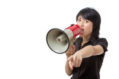 Can you hear me? Royalty Free Stock Image