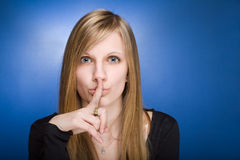 Can you keep a secret? Stock Photography