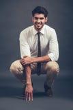 Can you resist his smile? Stock Photos